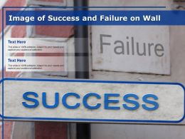Image Of Success And Failure On Wall