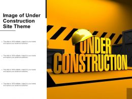 Image Of Under Construction Site Theme