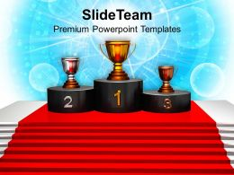 Image Of Winner Podium Powerpoint Templates Ppt Themes And Graphics 0213