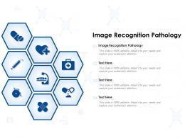 Image Recognition Pathology Ppt Powerpoint Presentation File Introduction