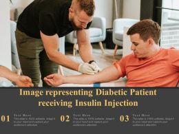 Image Representing Diabetic Patient Receiving Insulin Injection