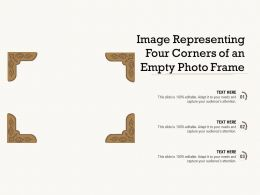 Image Representing Four Corners Of An Empty Photo Frame