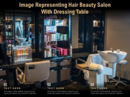 Image Representing Hair Beauty Salon With Dressing Table