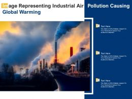 Image Representing Industrial Air Pollution Causing Global Warming