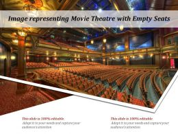 Image Representing Movie Theatre With Empty Seats