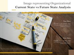 Image Representing Organizational Current State Vs Future State Analysis