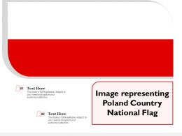 Image Representing Poland Country National Flag