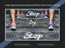 Image Representing Professional Athlete Sports Career Journey