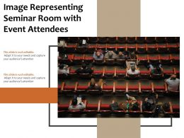 Image Representing Seminar Room With Event Attendees