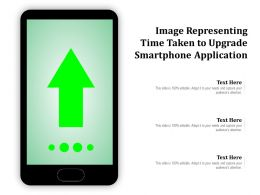 Image Representing Time Taken To Upgrade Smartphone Application