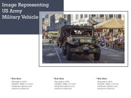Image Representing US Army Military Vehicle