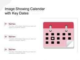 Image Showing Calendar With Key Dates