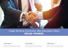 Image Showing Conclusion After Discussion About Brand Promise