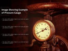Image Showing Example Of Pressure Gauge