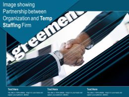Image Showing Partnership Between Organization And Temp Staffing Firm