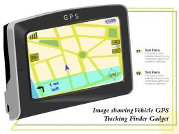 Image Showing Vehicle GPS Tracking Finder Gadget