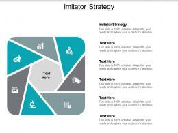 Imitator Strategy Ppt Powerpoint Presentation Styles Format Ideas Cpb