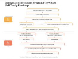 Immigration Investment Program Flow Chart Half Yearly Roadmap