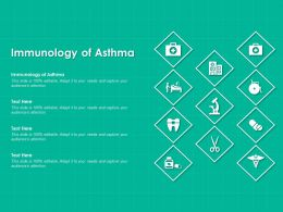 Immunology Of Asthma Ppt Powerpoint Presentation Outline Examples