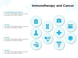 Immunotherapy And Cancer Ppt Powerpoint Presentation Inspiration Show