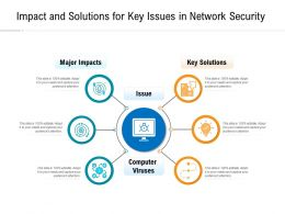 Impact And Solutions For Key Issues In Network Security
