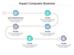 Impact Computers Business Ppt Powerpoint Presentation Summary Shapes Cpb