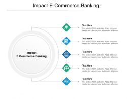 Impact E Commerce Banking Ppt Powerpoint Presentation Pictures Topics Cpb