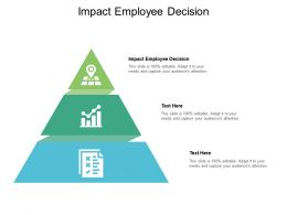 Impact Employee Decision Ppt Powerpoint Presentation Icon Themes Cpb