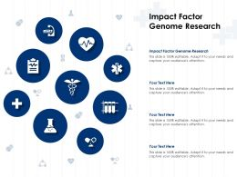 Impact Factor Genome Research Ppt Powerpoint Presentation Pictures Portrait