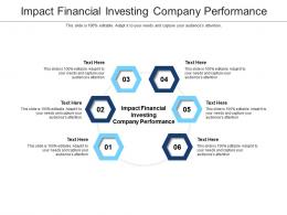 Impact Financial Investing Company Performance Ppt Powerpoint Image Cpb