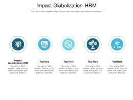 Impact Globalization HRM Ppt Powerpoint Presentation Infographics Example Cpb