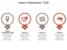 Impact Globalization TQM Ppt Powerpoint Presentation Icon Styles Cpb