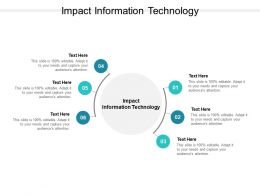 Impact Information Technology Ppt Powerpoint Presentation Infographic Template Themes Cpb