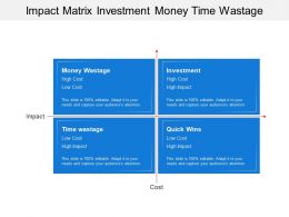 Impact Matrix Investment Money Time Wastage