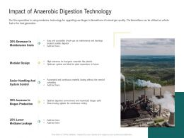 Impact Of Anaerobic Digestion Technology Ppt Powerpoint Show Layouts