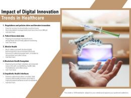 Impact Of Digital Innovation Trends In Healthcare