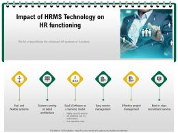 Impact Of HRMS Technology On Hr Functioning M1239 Ppt Powerpoint Presentation Outline Template