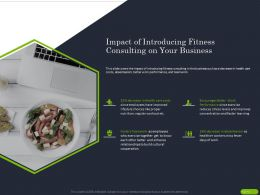 Impact Of Introducing Fitness Consulting On Your Business Ppt Powerpoint Gallery