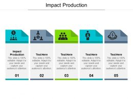 Impact Production Ppt Powerpoint Presentation Outline Maker Cpb