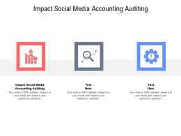 Impact Social Media Accounting Auditing Ppt Powerpoint Ideas Topics Cpb