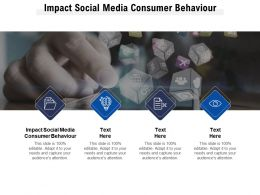 Impact Social Media Consumer Behaviour Ppt Powerpoint Presentation Professional Graphics Pictures Cpb