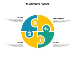 Impairment Assets Ppt Powerpoint Presentation Slides Background Designs Cpb