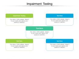 Impairment Testing Ppt Powerpoint Presentation Summary Smartart Cpb