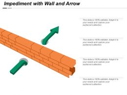 Impediment With Wall And Arrow