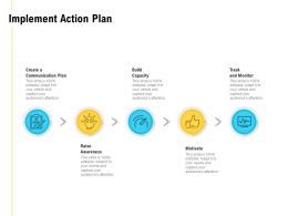 Implement Action Plan Build Capacity Ppt Powerpoint Presentation Inspiration Background