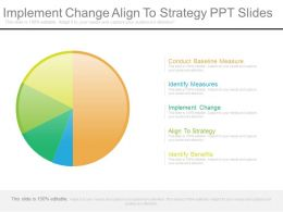 Implement Change Align To Strategy Ppt Slides