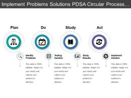 implement_problems_solutions_pdsa_circular_process_with_arrows_Slide01