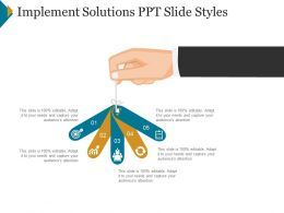 Implement Solutions Ppt Slide Styles