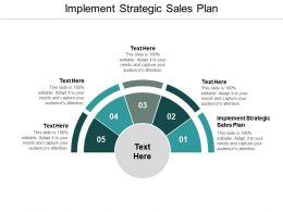 Implement Strategic Sales Plan Ppt Powerpoint Presentation Ideas Design Ideas Cpb
