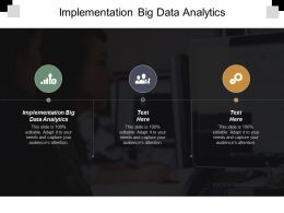Implementation Big Data Analytics Ppt Powerpoint Presentation Portfolio Example Cpb